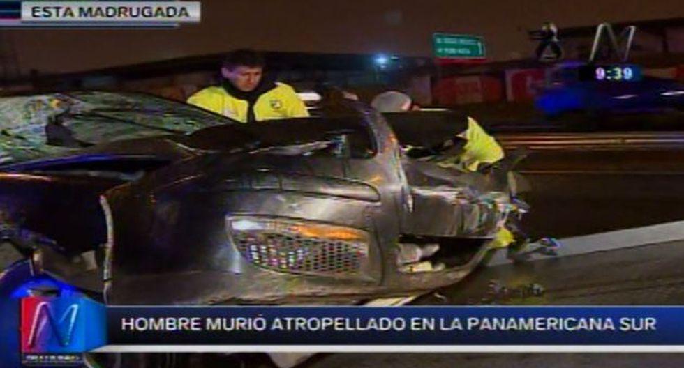 Luis Capcha Yupanqui es una de las víctimas identificadas en los accidentes ocurridos en la madrugada de este domingo. (Canal N)