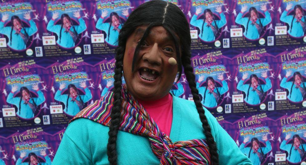 'La Paisana Jacinta', personaje creado por Jorge Benavides, está en problemas. (USI)