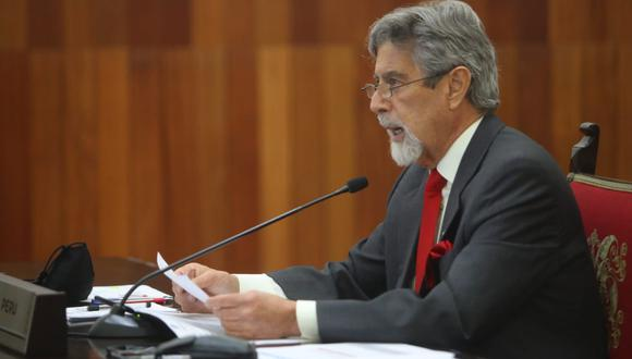 Francisco Sagasti anunció que renunció a su precandidatura a la vicepresidencia en la plancha de Julio Guzmán en el Partido Morado. (Foto: Presidencia)