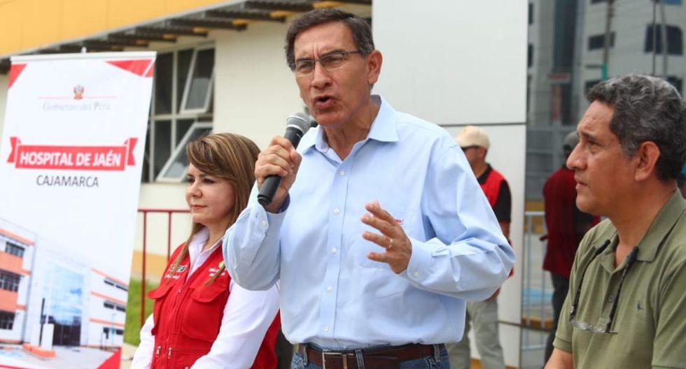 Martín Vizcarra habló sobre el cese de Hugo Coya de la presidencia de IRTP (GEC/Alessandro Currarino).