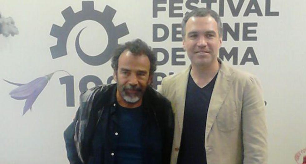 Actor mexicano hizo un especial reconocimiento a Salvador del Solar. (Diego Tirado)