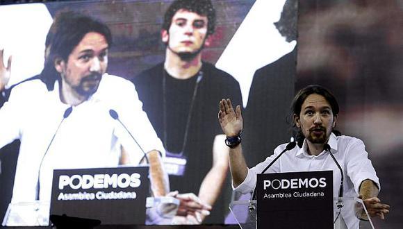 España: Agrupación política Podemos es liderada por profesor universitario Pablo Iglesias. (EFE)