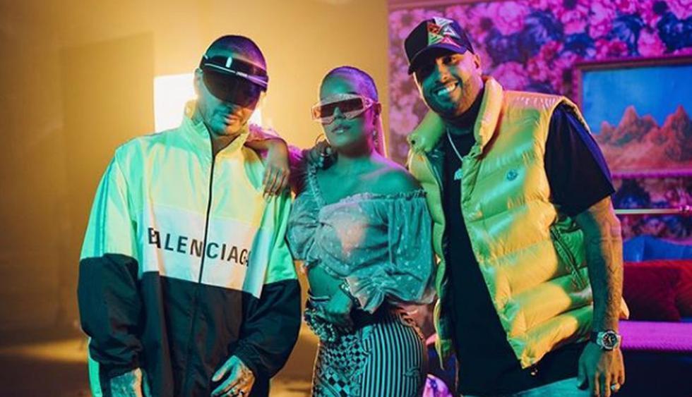 La cantante colombiana aprovechó el lanzamiento del tema 'Mi Cama Remix' que justamente lo realizó en compañía de Nicky Jam y J Balvin para publicar las instantáneas. (Instagram: @karolg)