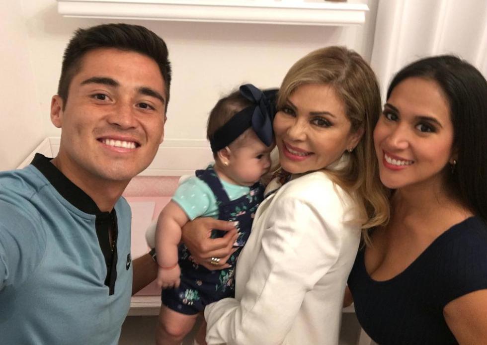 Gisela visitó la casa de Rodrigo Cuba y Melissa Paredes. (@melissapareds)