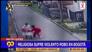 Colombia: Delincuente golpeó a una monja para robarle su celular