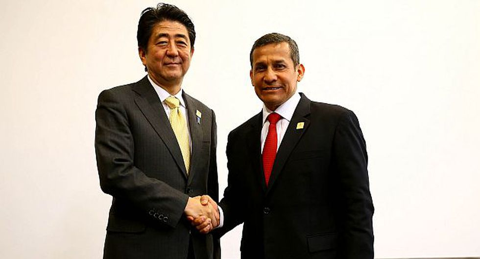 Ollanta Humala pidió más inversiones en el Perú a Japón en la APEC 2014. (Presidencia Perú)