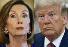 Pelosi se declara lista para lanzar segundo juicio político contra Trump
