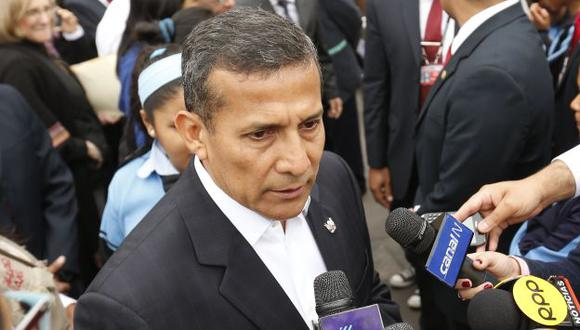 Ollanta Humala observó el proyecto sobre el Lote 192. (Perú21)