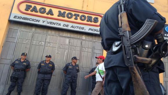 Ministerio Público interviene las empresas de Julio Gagó. (Foto: Andina)