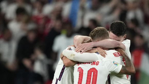 Los ingleses jugarán su primera final de Eurocopa. (Foto: AFP)