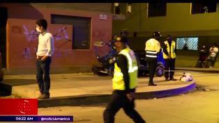 SJM: choque entre camioneta y mototaxi deja tres heridos