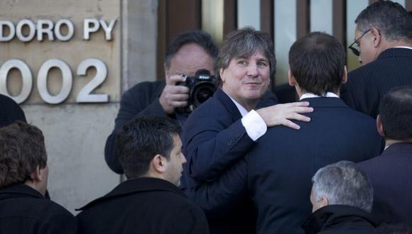 El vicepresidente de Argentina, Amado Boudou, no quiso declarar sobre los delitos de corrupción que se le atribuyen. (AP)