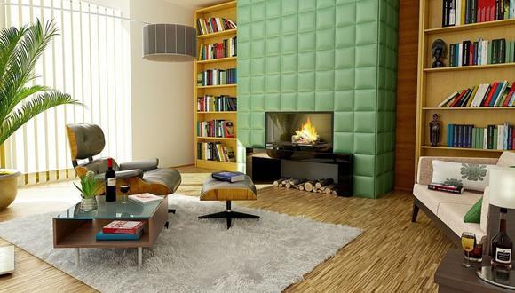 Las chimineas decorativas son una buena alternativa para colocarlas en un espacio libre de la sala o en el comedor. (Foto: Pixabay)