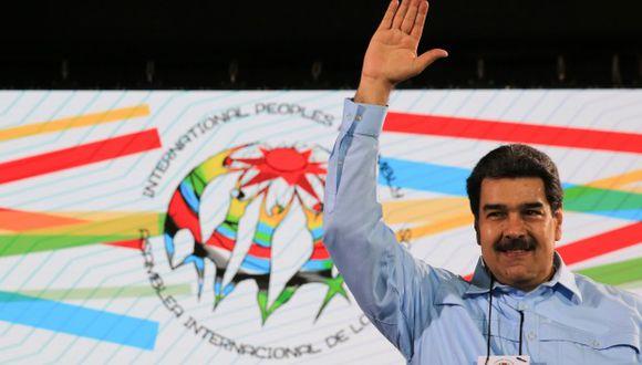 Nicolás Maduro comparó con discos rayados de vinilo a sus críticos en Estados Unidos que aseguran que ha agotado ya todos sus movimientos. (Foto: EFE)