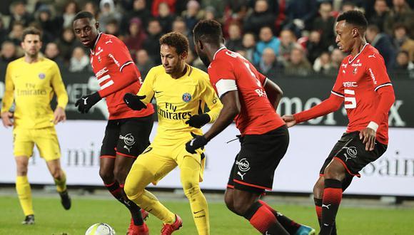 Neymar podría volver a brillar con la camiseta del PSG. (GETTY IMAGES)