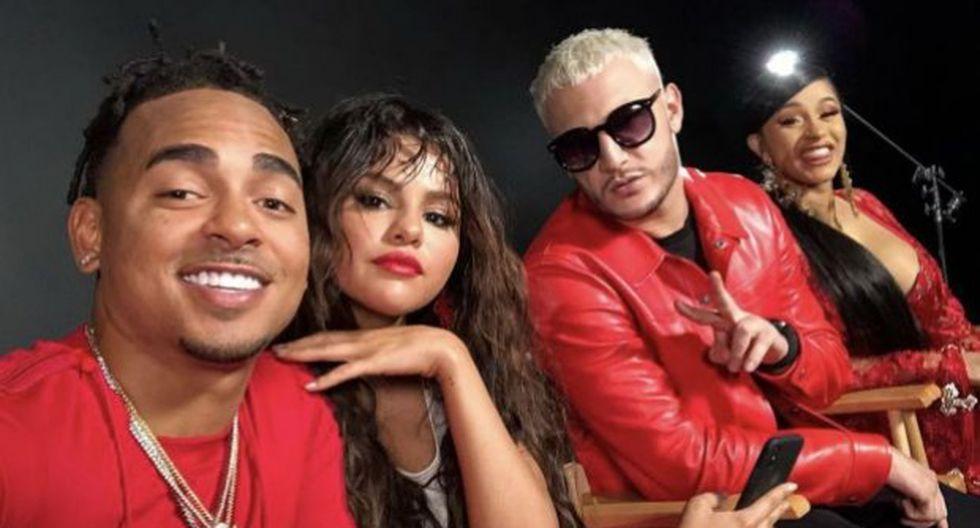 """""""Taki taki"""", la canción de Selena Gómez, Ozuna, DJ Snake & Cardi B es parte de la lista de las peores canciones del 2018. (Foto: EFE)"""