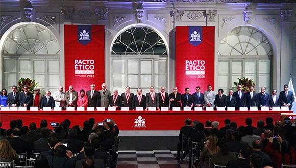 Pacto Ético Electoral amonestó a Ricardo Belmont por anunciar que no irá al debate municipal. (Foto: Agencia Andina)