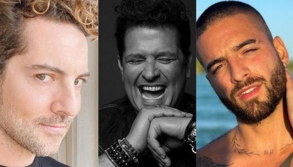Carlos Vives, Bisbal y Maluma actuarán en los Latin American Music Awards. (Foto: Instagram)