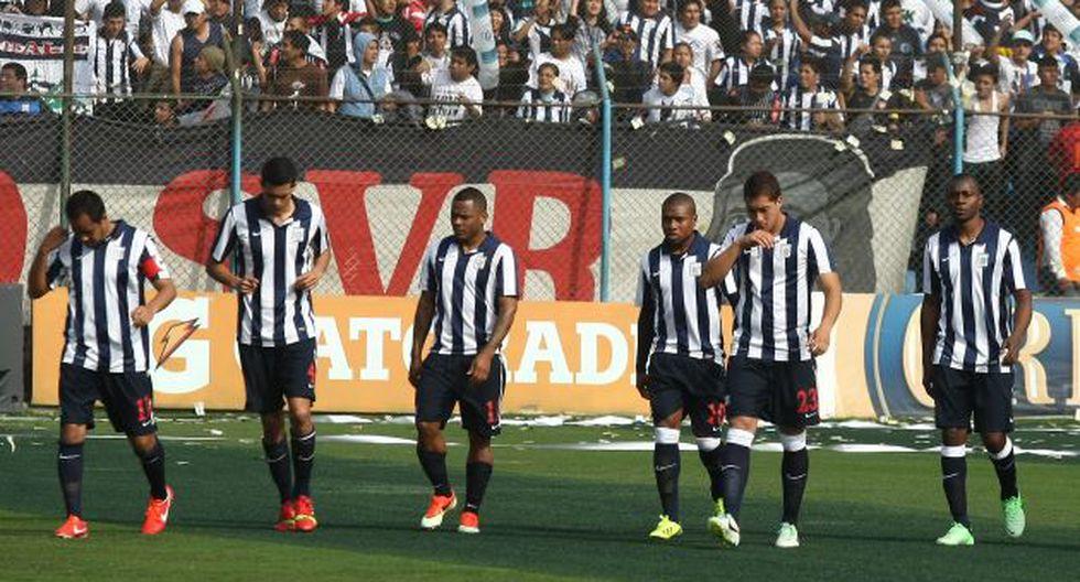 Alianza Lima no tiene sponsor desde 2011. (USI)