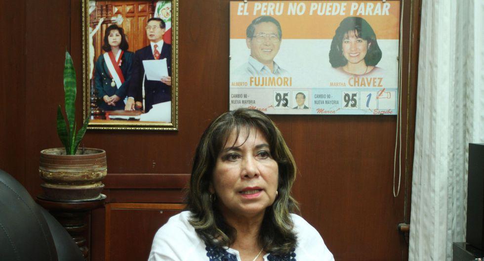"""Martha Chávez: """"Keiko solo ha sido leal a la promesa que le hizo a un empresario"""". (GEC)"""