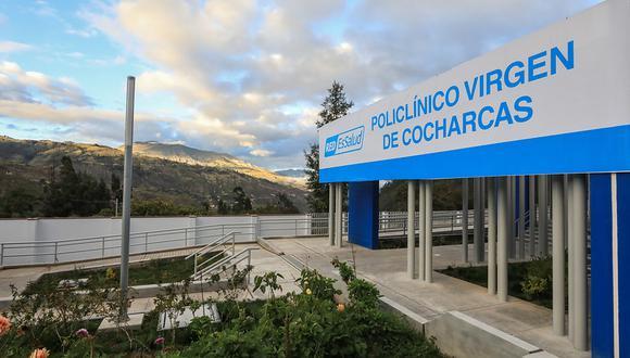 Titular de EsSalud acudió a inaugurar el recinto hospitalario. (Foto: Seguro Social)