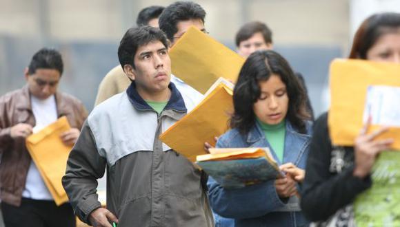 Desempleo en Lima Metropolitana sube a 6.9% en primer trimestre. (USI)