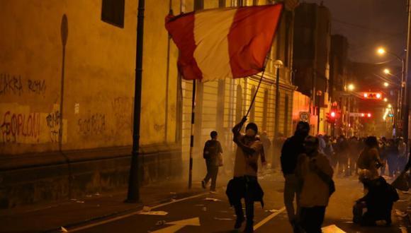 Marcha Nacional del jueves 12 de noviembre | Foto:Giancarlo Avila/ @photo.gec