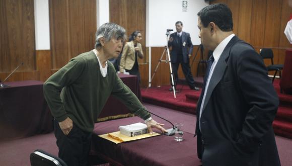 Alberto Fujimori apuesta a que su sentencia de 25 años sea anulada. (Luis Gonzales)