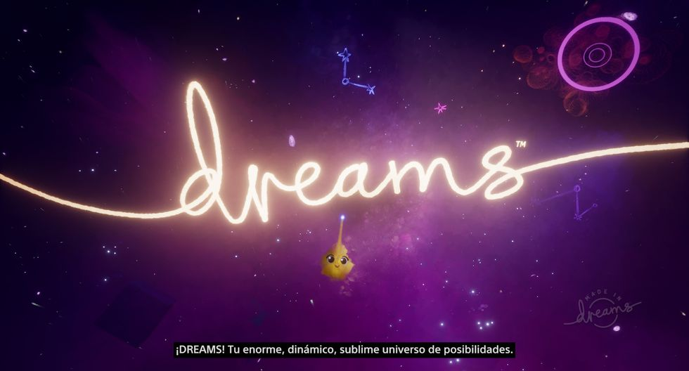 'Dreams' ya se encuentra disponible en nuestro mercado en exclusiva para PlayStation 4.