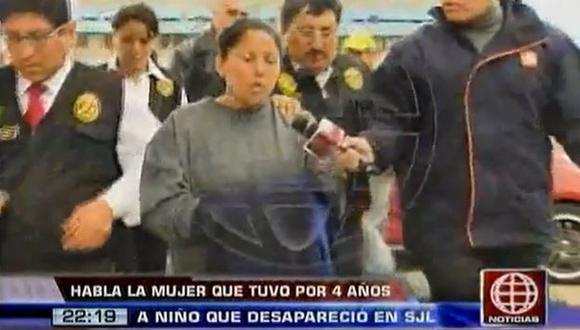 Rosa Quintanilla podría ser condenada a cadena perpetua. (Captura de TV)