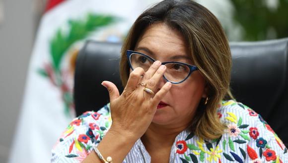Rocío Barrios, ministra de la Producción. (Foto: Alessandro Currarino / GEC)