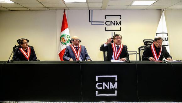 Todos los integrantes titulares del CNM fueron removidos por decisión del Congreso de la República. (Difusión)