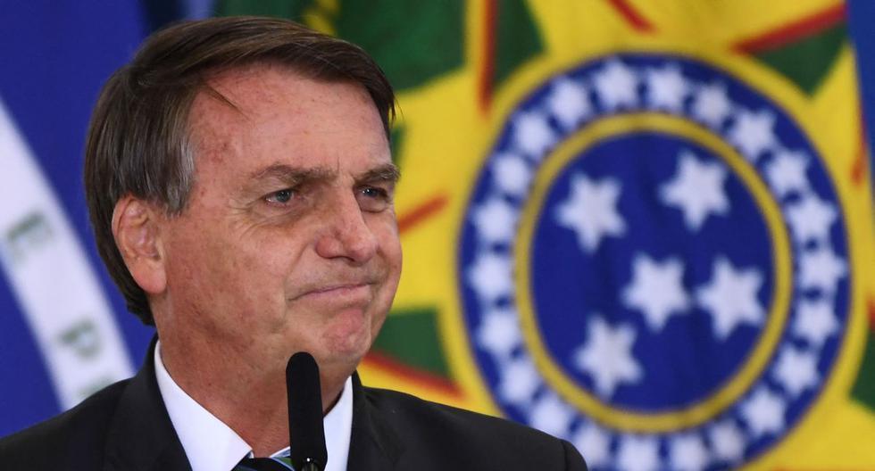 Imagen del presidente de Brasil, Jair Bolsonaro. (EVARISTO SA / AFP).