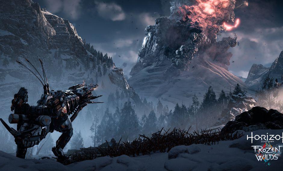 Horizon Zero Dawn: The Frozen wilds. (Difusión)