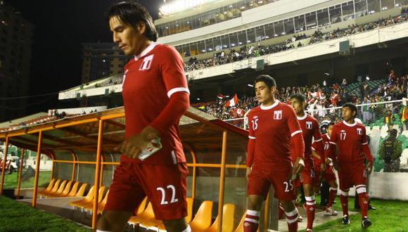 Retamoso, Ávila, Hurtado y Mariño jugaron el amistoso de 2011 en La Paz. Acabó 0-0. (USI)