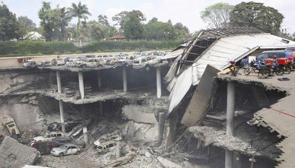 NO CESA LA VIOLENCIA. País africano tardará en recuperarse del atentado del martes. (Reuters)