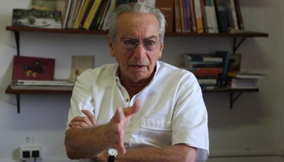 Julio Cotler arremetió contra el fujimorismo. (Perú21)