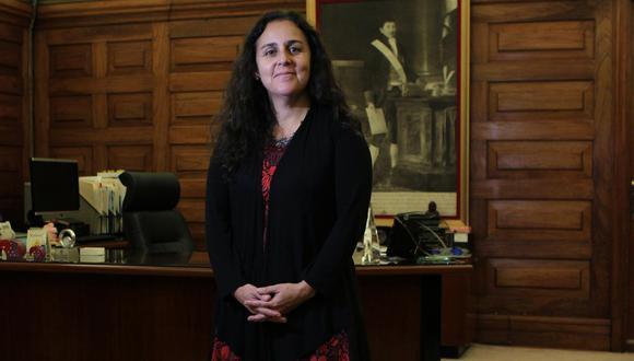 """Patricia García: """"Tiene que negociar de manera inteligente porque cada vacuna tiene sus ventajas y desventajas"""". (Foto: Alessandro Currarino)"""