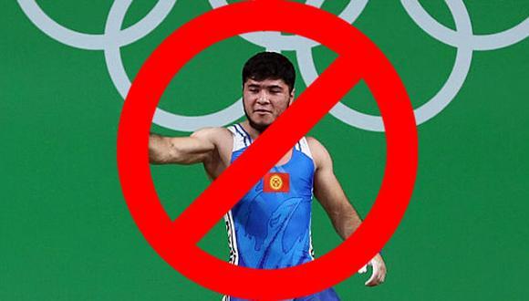 Izzat Artykov, pesista de Kirguistán es el primer atleta olímpico descalificado en Río 2016. (Getty Images)