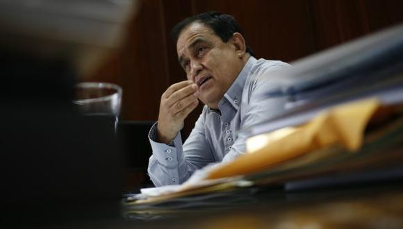 Según la ONPE, Otárola aportó en efectivo. (César Fajardo)