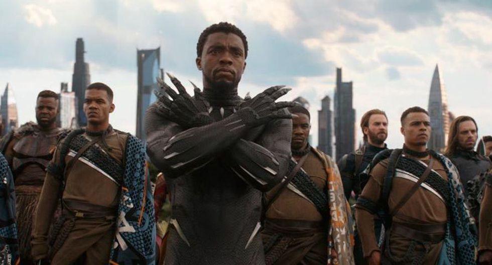 """Chadwick Boseman, actor que dio vida a Black Phanter asegura que """"en Marvel no hacen las películas por el dinero"""". (Foto: Marvel Studios)"""