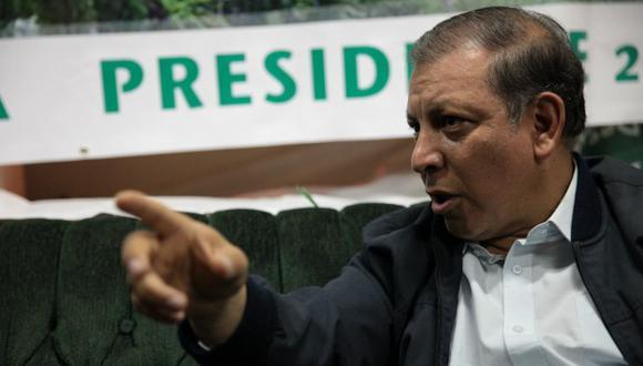 Marco Arana respalda indulto a Alberto Fujimori si es por razones humanitarias. (USI)