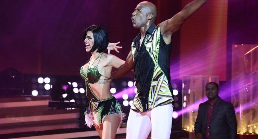 Luis 'Cuto' Guadalupe sorprendió estos bailes en 'El gran show'.  (El gran show)
