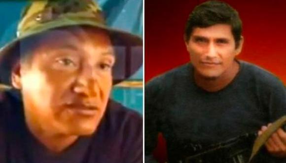 Los hermanos Víctor y Jorge Quispe Palomino –'José' y 'Raúl', respectivamente. Hoy el segundo está muerto y el primero con las horas contadas. (GEC)