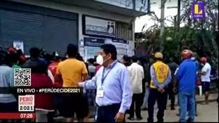 Puerto Maldonado: Cola de 10 cuadras para recoger DNI