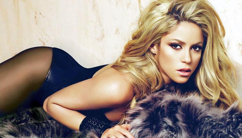 La colombiana Shakira encabeza la lista. (Internet)