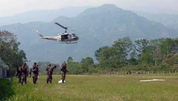 Miembros de la antigua base de Corazón Pata iba a ser el blanco de la insania del clan Quispe Palomino. (AFP)