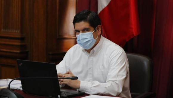 Luis Roel Alva, vicepresidente del Congreso, dijo que el próximo gobierno deberá desplegar una lucha frontal contra el terrorismo. (photo.gec)
