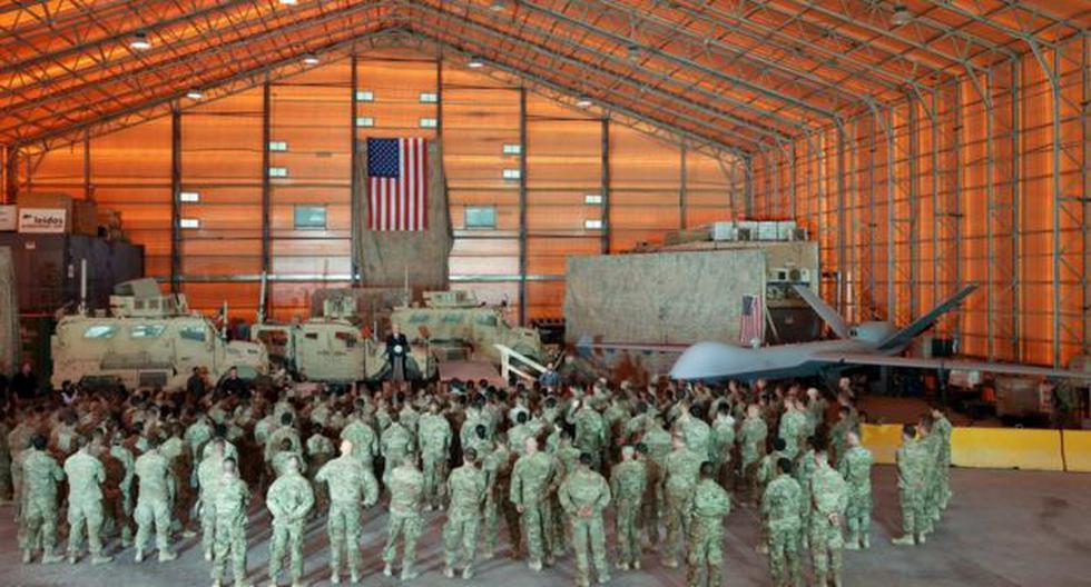 Está previsto que hasta 3,500 soldados viajen en los próximos días a Kuwait, una de las sedes del Mando Central de las Fuerzas Armadas de Estados Unidos. Foto: Reuters