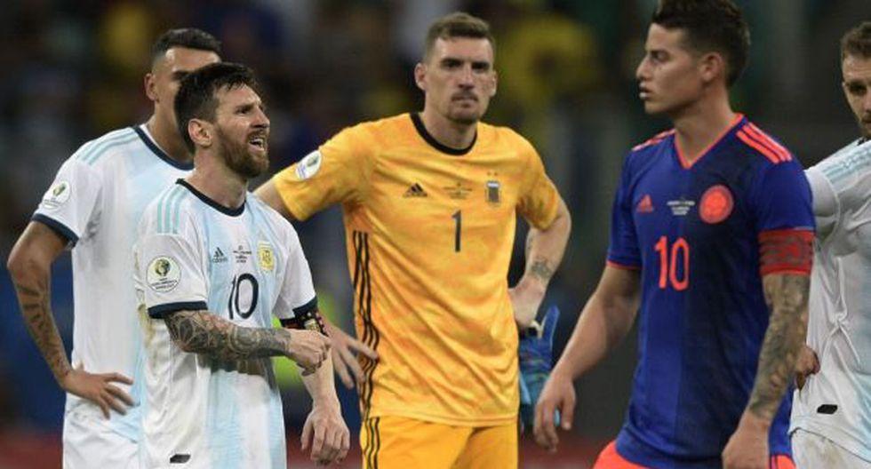 Argentina, Colombia, Paraguay y Qatar integran el Grupo B de la Copa América. (Foto: AFP)